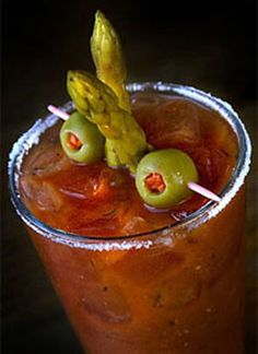 Every type of Bloody Mary you can imagine...