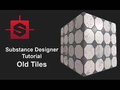 Substance Designer - Old Tiles Tutorial - YouTube