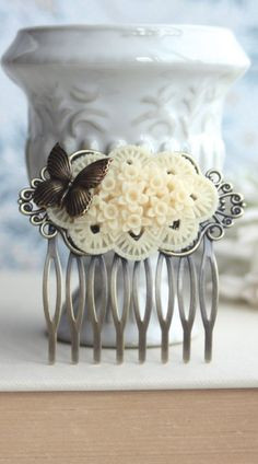 Butterfly Hair Comb.