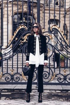 The VivaLuxury | PFW :: Saint Laurent Military Jacket