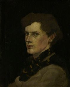 William McCance (Scottish, 1894-1970), William McCance, Artist, Illustrator and Typographer, Self Portrait, 1916. Oil on canvas, 50.8 x 40.6 cm. Scottish National Portrait Gallery, Edinburgh.