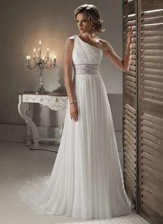 Beaded Chiffon Wedding Dresses