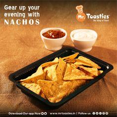 Gear Up your evening with NACHOS  #MrToasties