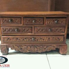 Jual bufet jati minimalis jepara terbaru | Toko bufet ukir mewah murah Bed Furniture, Furniture Design, Drawers, Storage, Modern, Home Decor, Purse Storage, Bedroom Furniture, Trendy Tree