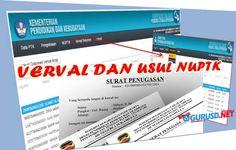 Contoh SK Operator  Verval PTK Dan NUPTK SDM PDSPK