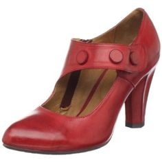 red shoes Love the angle buckle and the chunky heel - sturdy for public speaking, sexy yet classy! www.IgniteYourRelationships.com