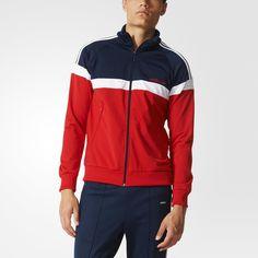 adidas Itasca Track Jacket - Red   adidas UK
