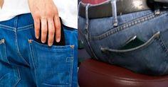 Inilah Alasan Mengapa Para Pakar Kesehatan Menganjurkan Agar Para Kaum Adam Tidak Menyimpan Dompetnya di Saku Belakang - Tips Kesehatan