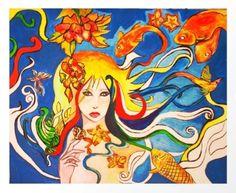 Destiny Art Print by mingmyaskovsky Destiny, Buy Art, Art Prints, Painting, Decor, Decoration, Decorating, Painting Art, Paintings