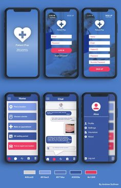 "Check out this project: ""Patient Plus - ui ux design mobile app"" ww., Best Picture For App Design home For Your Taste You are looking for some Web Design, Design Social, Design Food, App Ui Design, Design Layout, App Mobile Design, Mobile App Ui, App Design Inspiration, Ui Kit"