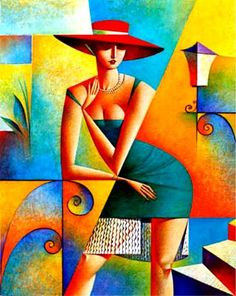 Fine Art and You: 20 Mind Blowing and Beautiful Cubist Art Works By Georgy Kurasov Art Et Design, Design Design, Arte Pop, Cool Paintings, Fine Art, Mosaic Art, Modern Art, Cool Art, Art Drawings
