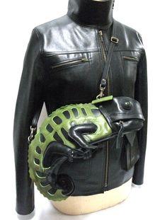Chameleon Bag from Atelier Iwakiri in Japan