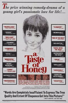 The l shaped room british kitchen sink dramas pinterest films promotional poster for the 1961 british kitchen sink drama a taste of honey workwithnaturefo