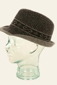 This is a truly unique hat. In classic colors with a traditional Nordic design, this Norlender nordic wool hat keeps the wearer looking put together, while knocking out the cold. Felted Wool, Wool Felt, Wool Hats, Nordic Design, Hat Making, Sweater, Color, Jumper, Sweaters