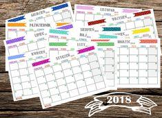 Jeszcze taki kalendarz do druku 2018