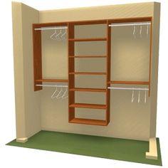 DIY Closet Storage Organization, Closet Design. New York, NY - Three Unit