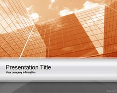 Orange Corporate Project PowerPoint template is a professional template slide design for PowerPoint that you can download as a free PPT template for Microsoft PowerPoint 2007 and 2010
