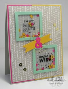 StampinDreams.com ; Stampin Up; Party Pants stamp set;
