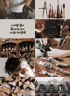 "starryeyedspell: "" witch aesthetics » wand-maker ""it's the rings in the trunk of the tree, a b i r t h m a r k time will leave . "" x x x x x x x x x x requests are: closed """