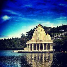 Hindu Temple in Grand Bassin, Mauritius #multiculturalism