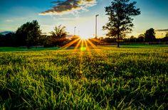 Sundown in the Park Owensboro, Kentucky