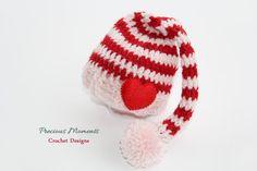 Valentine's Day Baby Hat Newborn by PreciousMomentsProps on Etsy