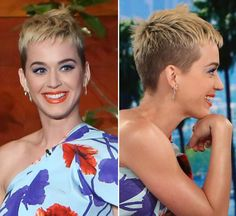 Katy Perry was the special guest on 'ELLEN' on May 16 & she looked fabulous! Not only did she look amazing, she dished to Ellen about her new haircut & why she had to chop off h…