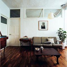 Retro Living Room Walk Up Apartment, Retro Living Rooms, Living Room Decor,  Living