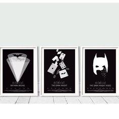 Perfect combination of Batman art prints