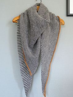 Drea's Shawl pattern by Craig Rosenfeld Ravelry: Project Gallery for Drea's Shawl pattern by Craig Rosenfeld History of Knitting String spinning, weaving and se. Shawl Patterns, Knitting Patterns, Granny Stripes, Knit Wrap Pattern, Free Pattern, Ravelry, How To Purl Knit, Easy Knitting, Knitted Shawls
