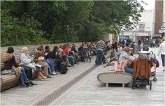 Continuous Public Seating