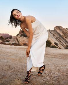 Miranda Kerr appears in Marella's spring 2017 advertising campaign