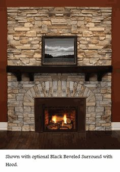 Majestic Topaz 20ILDV Direct Vent Gas Fireplace Insert - Natural Gas
