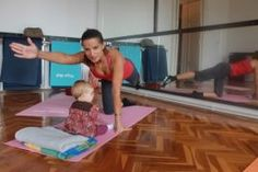 Pilates with baby? It is not impossible!