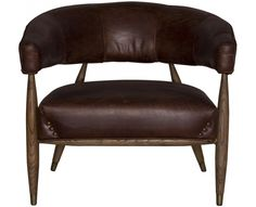 Weylandts   Products   Furniture   Angel Chair (Vintage Cigar)