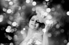 That December lights by Angelica Vaihel #december #lights #wedding #bw