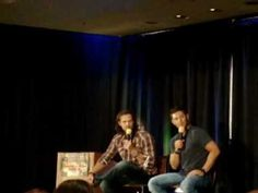 [VIDEO] Jared and Jensen convention panel.  Jensen talking about re-recording a line from s1 for s8 and his voice  changing...(DallasCon2012)
