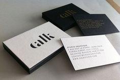 Badcass - Carte de visite en letterpress - Studio graphique