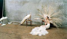 W Magazine, October 2012  Jennifer Lawrence photographed by Tim Walker