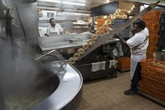 A Montreal Bagel War Unites Rival Kings by BY DAN BILEFSKY - www. New York Bagel, Bagel Shop, Wood Burning Oven, Space Story, That Poppy, Holocaust Survivors, Of Montreal, Merlin, Ny Times