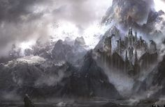 """dragonstone - Martin said, """"Dragonstone has been a bitch,"""" when describing the difficulty in bringing it to life in art, but he described this rendition as the most accurate to what's in the books."""