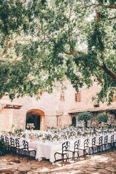 Courtyard Wedding Reception | Alago Events | Mallorca Wedding & Event Planner