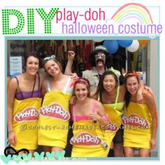 """DIY Play Dough Halloween Costume"" by the-tip-nerdss on Polyvore"