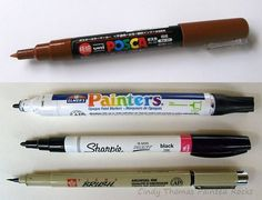 Use Paint Pens Instead of a Brush for Detailing Four pens suitable for rock painting are the: Uni Posca Marker (extra fine tip) Elmer's Painters Pen (fine tip) Sharpie Oil-Based Paint Marker (fine tip) Sagura Pigma Brush Pebble Painting, Pebble Art, Painting Tips, Stone Painting, Rock Painting Supplies, Dot Painting, Stone Crafts, Rock Crafts, Posca Marker
