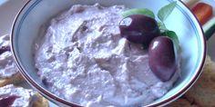 Patê de ricota com azeitona