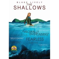 In the taut thriller, when Nancy (Blake Lively) is surfing on a secluded beach, she finds herself on the feeding ground of a great white shark. Scary Movies, Drama Movies, Great Movies, New Movies, Horror Movies, Movies To Watch, Movies And Tv Shows, Blake Lively, Family Video