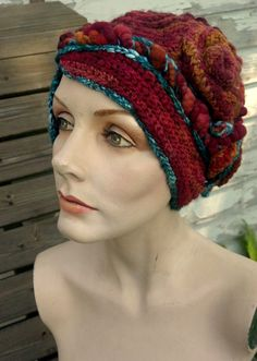 Sometimes I Don't Get You freeform crochet hat by girlwithahook, $175.00