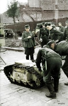 Goliath, Warsaw 1944