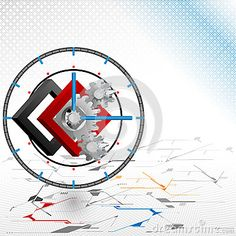 New Idea for technology background;Cogwheels framed by three dimensions squares seated as backdrop of a clock.Abstract background for office and business, wallpaper, poster, template for designers. Technology Background, Vector Background, Vector Art, Geometry, Backdrops, Squares, Royalty Free Stock Photos, Clock, Vectors
