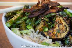 The Kitchenista Diaries: Roasted Veggie Grain Bowl & a Vietnamese Vinaigrette